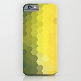 YELLOW AND KHAKI HONEY iPhone Case