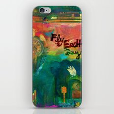 Fly Each Day iPhone & iPod Skin