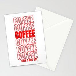 Coffee Gift Cappuccino Macchiato Espresso Stationery Cards