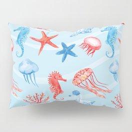 Marine Pattern 09 Pillow Sham