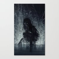 Canvas Prints featuring Nocturne by loish