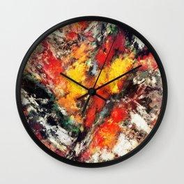 Clattering Wall Clock