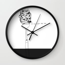 Jab Wall Clock