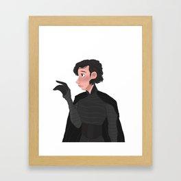 Conflicted Framed Art Print