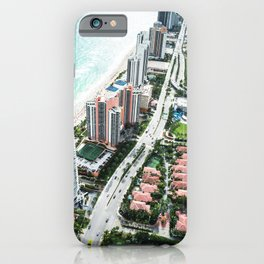 fort lauderdale aerial view iPhone Case