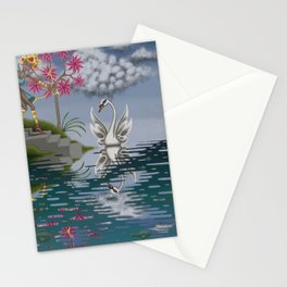 Swan Song Stationery Cards