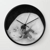 sofa Wall Clocks featuring Sofa by Satoshi OTA