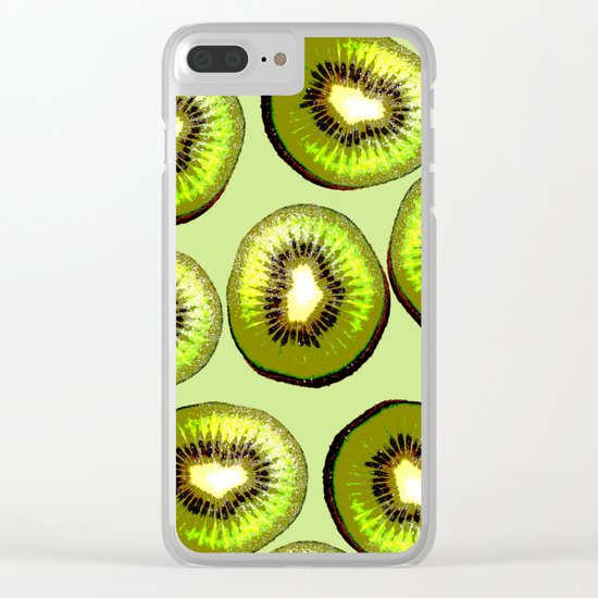 SUMMER FRESHNESS Clear iPhone Case