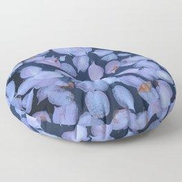 Pinks Petals floating on water Floor Pillow