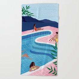 Pool ladies Beach Towel