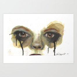 She Wants Revenge Art Print