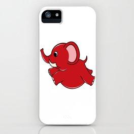 Plumpy Elephant iPhone Case
