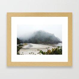 Overlook Beach Framed Art Print