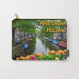 Amsterdam Holland Canal Carry-All Pouch