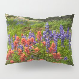 Colorado Wildflowers Pillow Sham