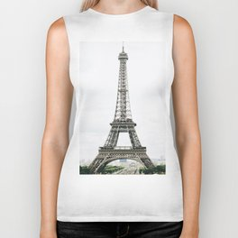 Eiffel Tower - Paris Biker Tank