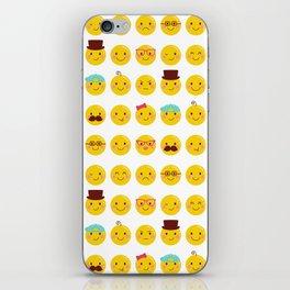 Cheeky Emoji Faces iPhone Skin