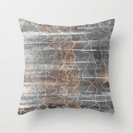 Unearthed Throw Pillow