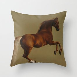 Whistlejacket by George Stubbs 1792 Throw Pillow