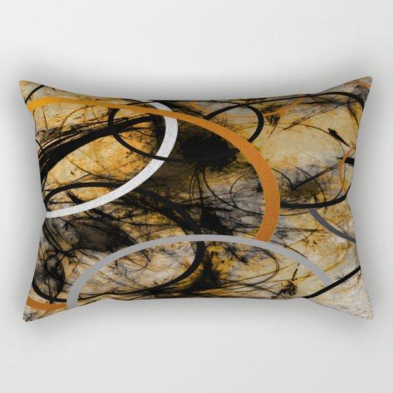 Rustic Hypnosis Rectangular Pillow