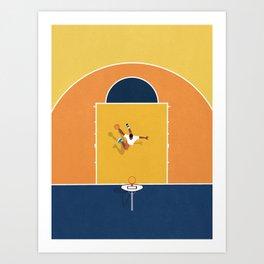 Basketball Vibes  Art Print