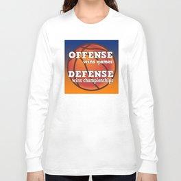 Winning philosophy for team sports Long Sleeve T-shirt
