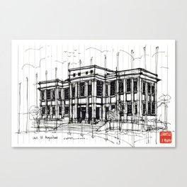 University of the West Indies Admin. Building Canvas Print