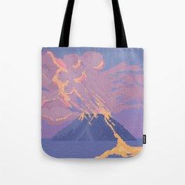 Erupt Tote Bag