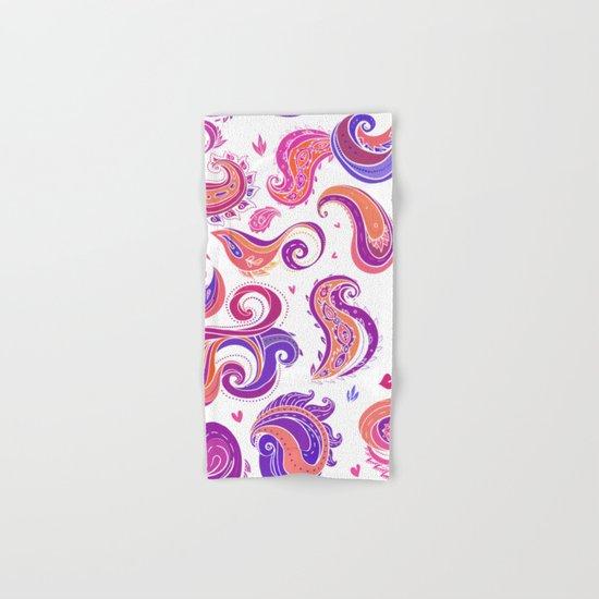 Indian Paisley Pattern 01 Hand & Bath Towel