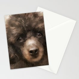French Poodle Stationery Cards