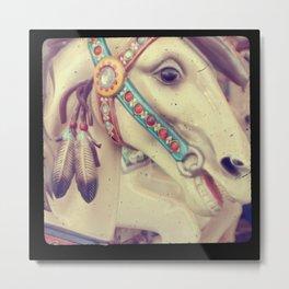 Native Carousel Metal Print