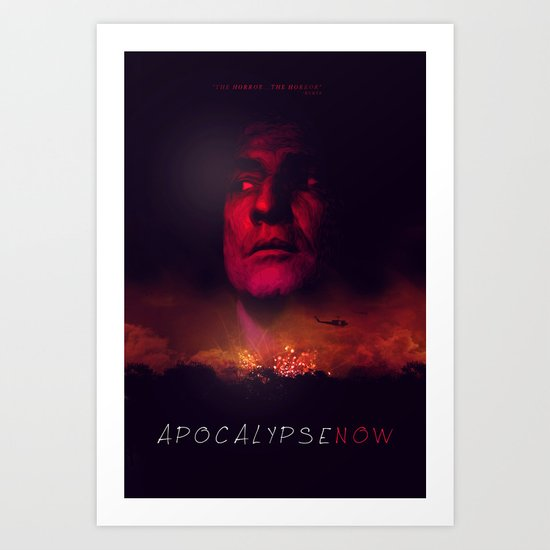 Apocalypse Now Poster Art Print