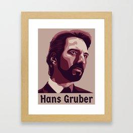 Hans Gruber Framed Art Print