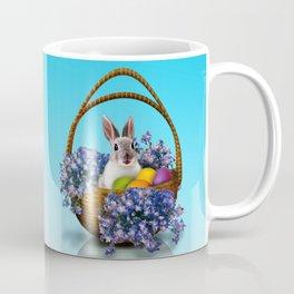 Easter Bunny Basket Coffee Mug