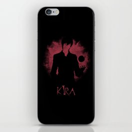 I Am Justice! Kira iPhone Skin