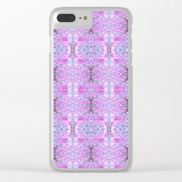 zakiaz crown chakra Clear iPhone Case