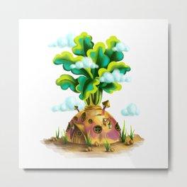 Turnip house Metal Print