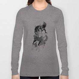 Femme Loup Tattoo Long Sleeve T-shirt