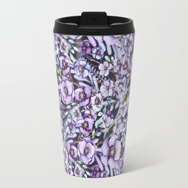 FLOWERS WATERCOLOR 24 Travel Mug