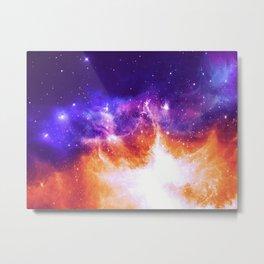 Stars & Flames Metal Print