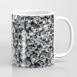 Plastic beads with metallic paint Coffee Mug
