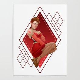 Queen of Diamonds Poster
