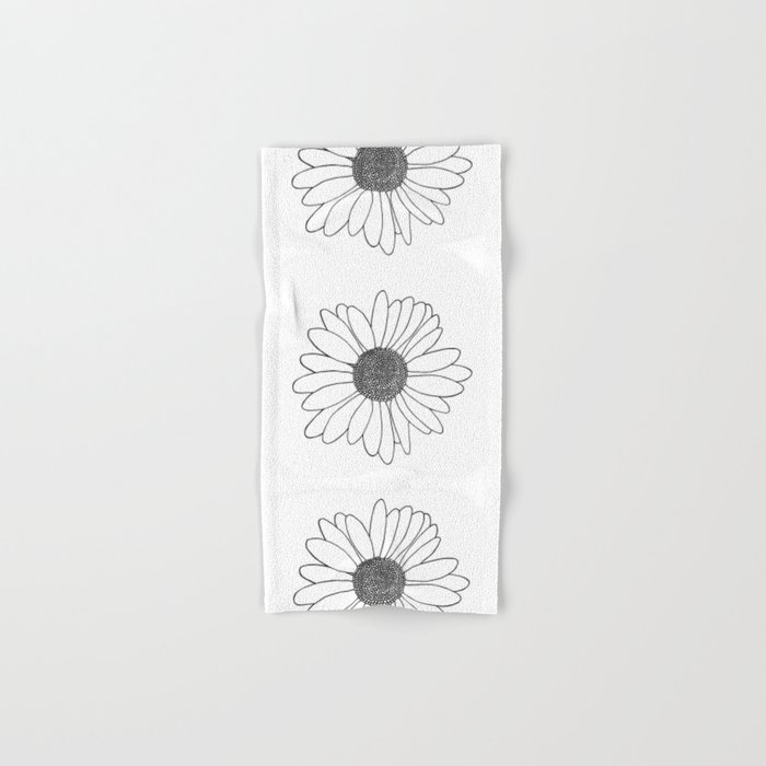 Daisy Hand & Bath Towel