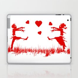 Zombies in Love Red Laptop & iPad Skin