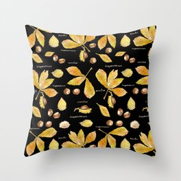 Anna's Chestnuts Throw Pillow