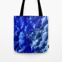 Abstración Océanica Azul Tote Bag