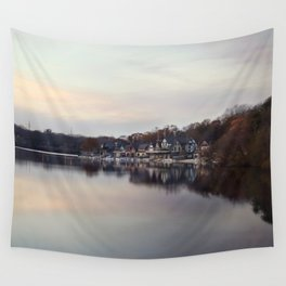Boat House Row, Philadelphia Wall Tapestry