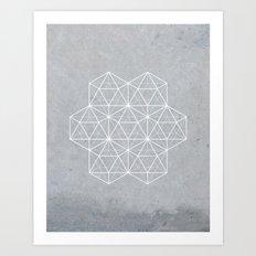 Sacred Geometry - Stars Art Print