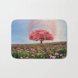 Maple Tree Explosion  Bath Mat