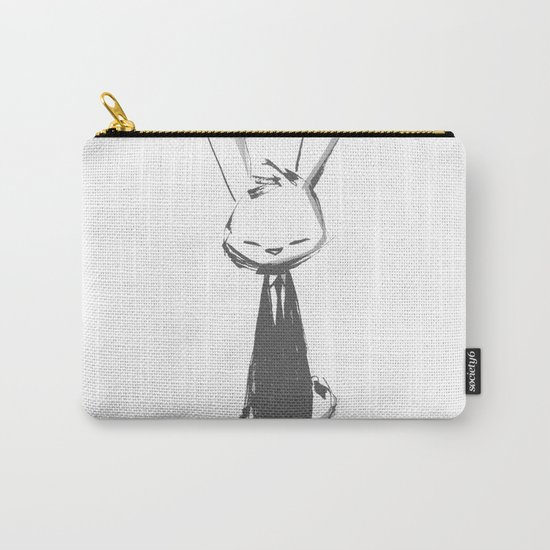 minima - beta bunny pose Carry-All Pouch
